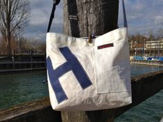 Recycled sail bag by Rough Element