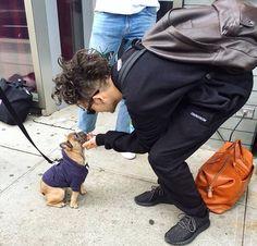 Matty and a cute puppy! ♥️