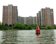 Coop City Apartment Highrises on the Hutchinson River, Bronx NYC Bronx Nyc, One And Only, San Francisco Skyline, New York City, Ash, New York Skyline, Smoke, River, Explore