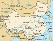 Chine Wikipedia Chine Carte De La Chine Chine Carte
