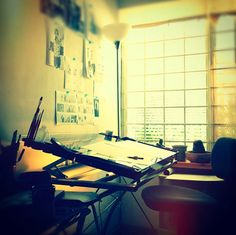 Artists Studios. See More. Workspace Of The Week: The Advantages Of An  Unconventional Desk | Unclutterer