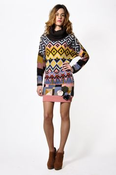 Savage Culture: Cashmere Odelia Sweater Dress, only on wildcurves.com!