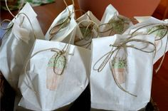 DIY Backyard: Gift Bags for Plant Cuttings. birdsandblooms.com