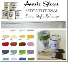 Image result for Annie Sloan Chalk Paint Ideas Tutorials
