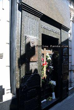 Eva Perón Tombstone - La Recoleta Cemetery - Buenos Aires, Argentina | FollowPanda.COM