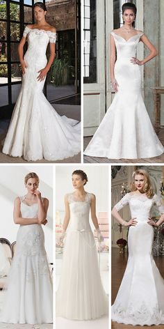 24 Classic Wedding Dresses You Can't Go Wrong With ❤ If you are not sure what wedding gown to choose, stop on the classic wedding dress. See more: http://www.weddingforward.com/classic-wedding-dresses-ideas/ #wedding #dress
