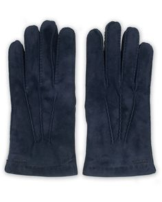 Hestra Arthur Wool Lined Suede Glove Navy December, Gloves, Wool, Navy, Leather, Fashion, Hale Navy, Moda, Fashion Styles