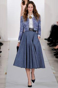 Oscar de la Renta Pre-Fall 2013 – Vogue