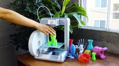 3D Printer | Allow to build a three-dimensional object from a computer sketch using different type of material.