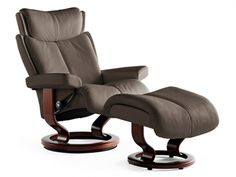 stressless recliner lowback small ekornes stressless magic - Small Leather Recliners