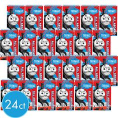 Party City Thomas The Train Notebook Birthday Discount Supplies