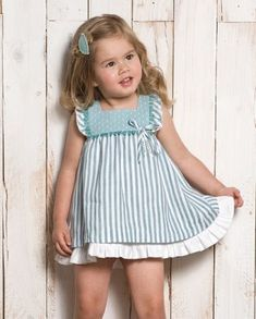 Jun 2019 - Inspiration for traditional classic girls clothing! Baby Girl Dress Patterns, Little Dresses, Little Girl Dresses, Baby Girl Fashion, Toddler Fashion, Kids Fashion, Fashion Games, Fashion Outfits, Toddler Dress