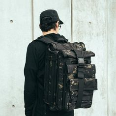 The Mission Workshop Arkiv® Modular Systems allow for the secure and simple attachment of weatherproof accessories to the exterior of the backpack. Mission Workshop, Laptop Carrying Case, Bag Accessories, Backpacks, Pocket, Kicks, Clothing, Men, Fashion