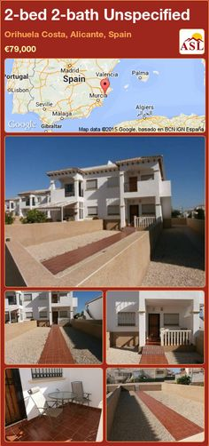 2-bed 2-bath Unspecified in Orihuela Costa, Alicante, Spain ►€79,000 #PropertyForSaleInSpain