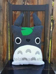 Totoro pillow, cushion, plush