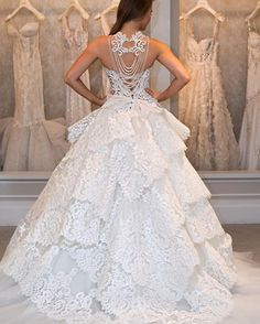 Wedding Dresses Interesting Backs 25