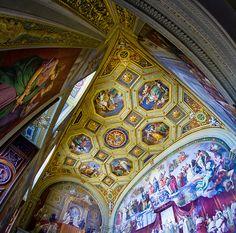 The Sistine Chapel--The Vatican City