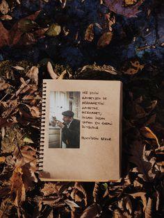 Ömer Yeşilırmak galerisi, defterim. Belgrad Ormanı •İstanbul  Aralık 2017 Galaxy Wallpaper, Book Journal, Book Quotes, My Books, Literature, Nostalgia, Poems, Lyrics, Polaroid Film