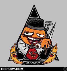 Fruit Droogs: T Shirt Design
