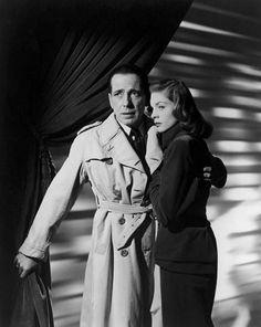 Humphrey Bogart and Lauren Bacall in a publicity photo for The Big Sleep (Howard Hawks, 1946)