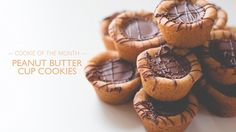 Peanut Butter Cup Cookies | The Gray Boxwood