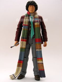 1. The Fourth Doctor (with Sonic Screwdriver) (part of K1 robot wave)