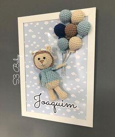 Crochet Toys, Knit Crochet, Handmade Crafts, Diy And Crafts, Crochet Stitches, Crochet Patterns, Crochet Wall Art, Crochet Projects, Crafty