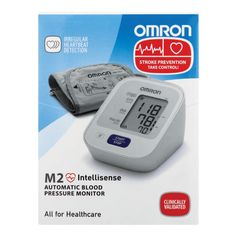 Omron Intellisense Automatic Blood Pressure Monitor ensures accurate and comfortable readings with an irregular heartbeat detection.