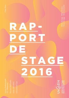Rapport de stage agence 148