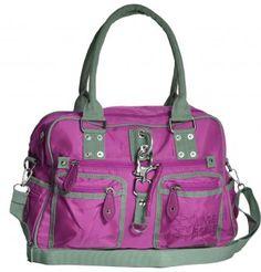 Bowlingtasche Linde Borse lila #bag #mode #tasche