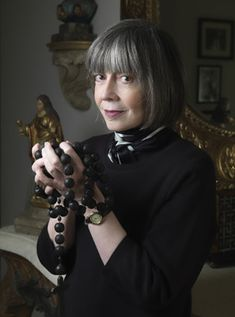 Anne Rice - I'm a little sceptical of people who go from one extreme to another.