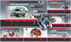 FIAT (Cliente Directo) Nuevo Fiorino Nos encargaron el desarrollo de un site en HTML5 para el lanzamiento de nuevas versiones de este vehículo.