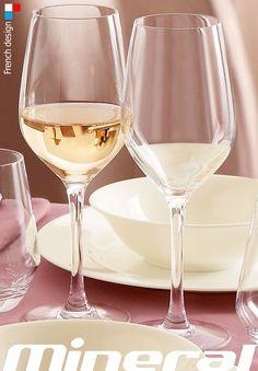 MINERAL, una copa de excepcional transparencia. #Copa de #vino de #Arcoroc elegante y #estilizada. Disponible desde 2,14€/unidad en http://www.tiendacrisol.com/tienda.php?Id=3250