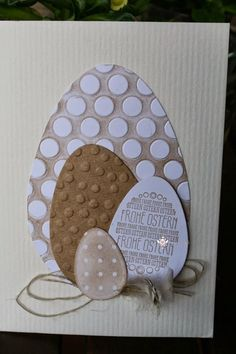 Almost a bit late - the last two Easter cards only on Easter Monday . - Almost a bit late – the last two Easter cards should not be uploaded until Easter Monday. Easter Monday, Easter Crafts For Kids, Scrapbook Paper Crafts, Craft Stick Crafts, Diy Cards, Making Ideas, Cardmaking, Christmas Cards, Pattern