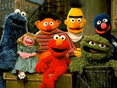 Old School Sesame Street ~ watching this with my little sister Kris after school