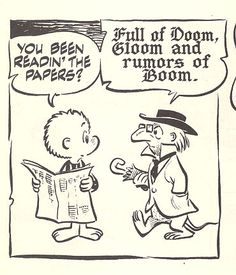 Pogo. Walt Kelly made brilliant use of everything - including lettering.
