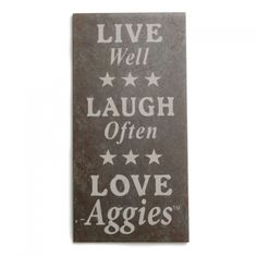 Love Aggies,, have to have one of these