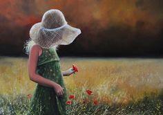 """DILEMĂ: """" ADULT - COPIL SAU COPIL - ADULT """" ? Illustrations, Portrait Art, Cowboy Hats, Garden Sculpture, Crochet Hats, Outdoor Decor, Artist, Painting, Scenery"""
