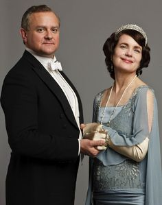 ROBERT & CORA! Gettin Ready for Season 4  | #DowntonAbbey #vintagefashion #vintage