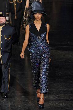 Louis Vuitton, Fall 2012, Paris Fashion Week.