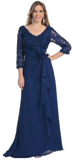 US Fairytailes Mother of the Bride Formal Evening Dress #2813: Amazon Fashion