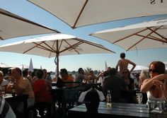 Antwerp Beach. And when you need to take a break from sunning yourself, head to one of the cool bars and cafes that line the beach.