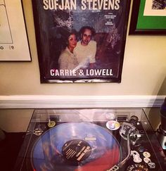 """""""Best of 2015"""": this was a strong release by Stevens. He was also just as amazing live. @golden_charm__ and I watched him put on an incredible show @theryman check it out if you haven't already. Sufjan Stevens - Carrie & Lowell @sufjanstevens_ #sufjanstevens #carrieandlowell by tylerthetennessean"""