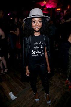 Jaden Smith, Yara Shahidi & Destiny Jones, Skai Jackson & More Floss For Young Hollywood At Nylon Party + Solange Looks Like Art At Basquiat Show