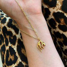 """LOU. on Instagram: """"💥Leo necklace is back in stock!💥 #finally  - - #loujewelry #loushop #leopard #leopardnecklace #goldleopard #handmadejewelry"""" Leo, Handmade Jewelry, Bracelets, Gold, Instagram, Bangle Bracelets, Bracelet, Lion, Handmade Jewellery"""