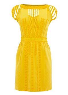 Karen Millen modern tribal dress £295 - What to wear to the races