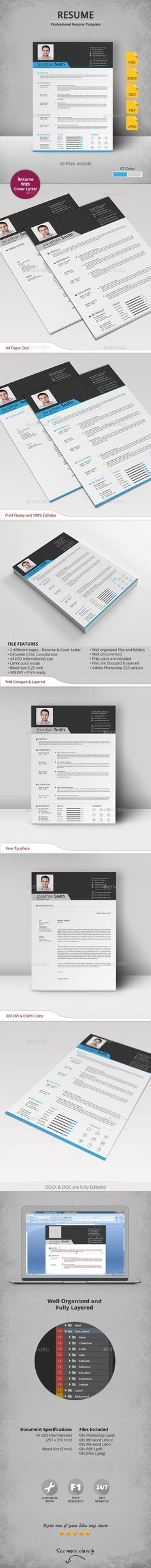 CV Resumes Stationery Download here httpsgraphicrivernetitemcv20086973refu003dalena994