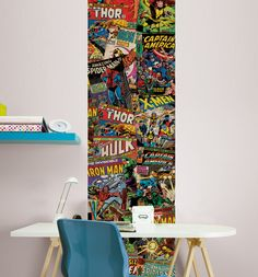 Marvel Comics Unique Wall Wallpaper Panel 50cm x 2.5m