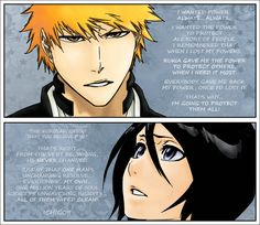 I just coloring it traing to do even better. (Texts from chapters 475 and . And he changed her world - IchiRuki 476 Bleach Rukia Bankai, Ichigo E Rukia, Bleach Fanart, Bleach Anime, Departed Soul, Stop The Rain, Bleach Couples, Narusaku, Cute Anime Character