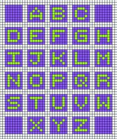 Owl In Stitches: Alphabet Baby Blanket - Free Crochet Pattern Crochet Letters Pattern, Bobble Stitch Crochet, Crochet Alphabet, Crochet Baby Blanket Free Pattern, Crochet Gratis, Granny Square Crochet Pattern, Crochet Squares, Crochet Stitches, Free Crochet